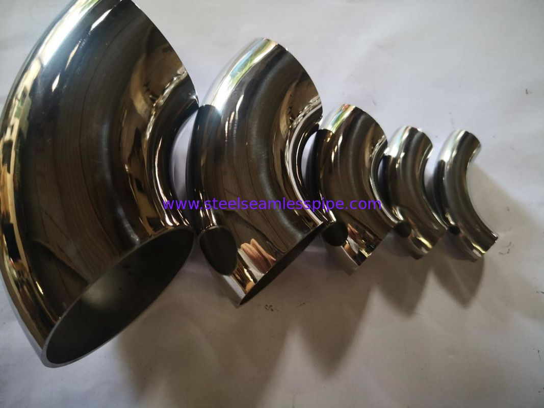 Paper Plant Butt Weld Fittings Bright Satin Surface For Decoration Stable Performance